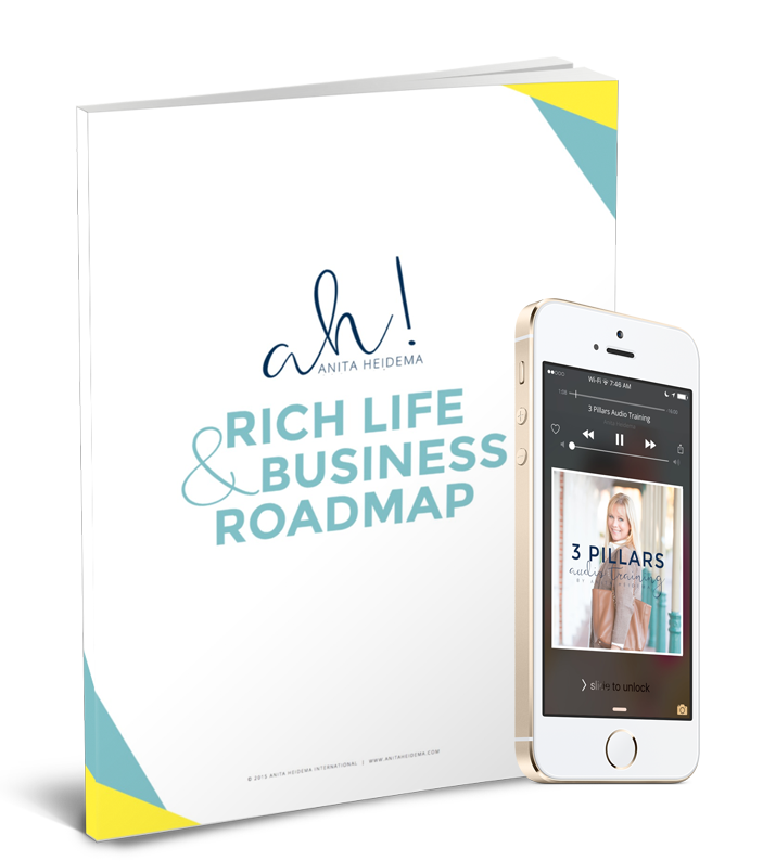 Rich Life & Business Roadmap by Anita Heidema
