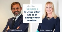 Episode 8 – Dario Tomaselli, Master Chef, Entrepreneur on today's Ah-Ha Moments for Success with Anita Heidema