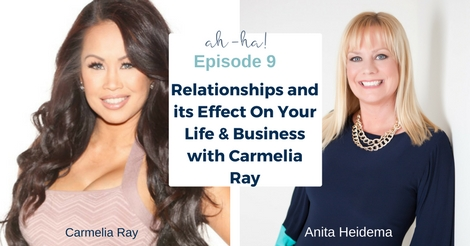 Ep 9 Relationships and its Effect On Your Life & Business with Carmelia Ray